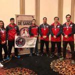 Selección Chilena de Wushu logró cinco medallas en la segunda Copa Sudamericana de Sanda