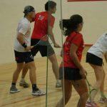Chile asegura una medalla en el dobles mixtos del squash en los Juegos Sudamericanos