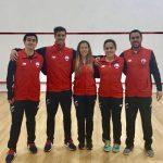 Squash chileno suma dos medallas de bronce en los Juegos Sudamericanos
