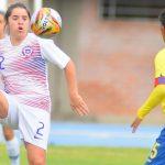 Chile empató ante Ecuador y quedó fuera del podio del fútbol femenino en Cochabamba
