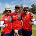 Chile logró dos cuartos lugares en las competencias por equipos del tiro con arco en Cochabamba