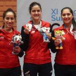 Chile sumó dos medallas de plata por equipos en el tenis de mesa de los Juegos Sudamericanos