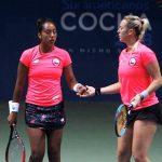Daniela Seguel y Alexa Guarachi ganan la medalla de oro en el dobles femenino del tenis en Cochabamba