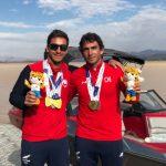 Chile sumó dos nuevas medallas de oro en el cierre del esquí náutico en los Juegos Sudamericanos