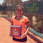 Fernanda Brito se tituló campeona de un nuevo ITF 15K de Hammamet