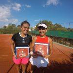 Fernanda Brito se tituló campeona de dobles del ITF 15K de Hammamet