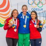 Francisca Crovetto y Gabriela Lobos ganan medallas de bronce en el tiro deportivo de los Juegos Sudamericanos