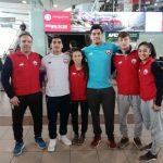 Selección Chilena de Judo comenzó una gira por Europa
