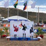 Ignacio Montesinos ganó una medalla de plata en la jornada final de la equitación en Cochabamba