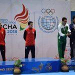 Ignacio Morales ganó medalla de oro en el taekwondo de los Juegos Sudamericanos