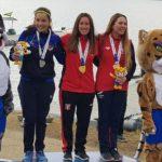 Kelly González ganó medalla de bronce en la vela de los Juegos Sudamericanos