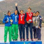El canotaje chileno gana dos medallas de oro en una nueva jornada de los Juegos Sudamericanos