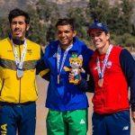 Michael García gana medalla de bronce en primer día del canotaje en Cochabamba