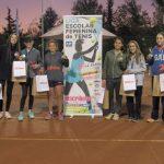 El Club de Tenis San Cristóbal recibió la primera fecha de la Liga Escolar Femenina