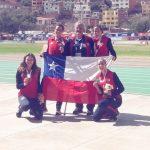 Chile gana una medalla de plata y dos de bronce en el cierre del atletismo en Cochabamba
