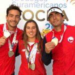 Chile gana tres oros y tres platas en la primera jornada del esquí náutico en Cochabamba