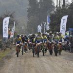 Gonzalo Aravena y Fernanda Castro ganaron la tercera fecha del Suzuki MTB Tour