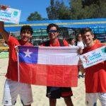 Vicente Droguett y Gaspar Lamell fueron terceros en el último clasificatorio a los Juegos Olímpicos de la Juventud