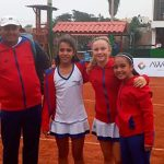 Equipo chileno femenino se coronó campeón del Sudamericano Sub 12 de Tenis