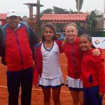 Equipo femenino nacional sumó un nuevo triunfo en el Sudamericano Sub 12 de Tenis