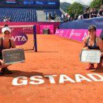 Alexa Guarachi se tituló campeona de dobles del WTA de Gstaad
