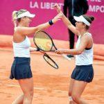 Alexa Guarachi será top 100 del mundo en dobles tras clasificar a la final del WTA de Gstaad