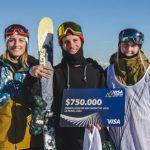 José Manuel Bravo e Iñaki Irarrázabal ganaron la Visa Snow Cup 2018