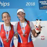 Antonia y Melita Abraham ganan medalla de bronce en el Mundial Sub 23 de Remo