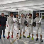 Selección Chilena de Esgrima viajó a China para disputar el Mundial