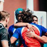 """Los """"Cóndores 7"""" derrotan a Tonga en el Mundial de Rugby Seven"""