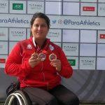 Francisca Mardones es nominada para ser la mejor atleta de junio por el Comité Paralímpico de las Américas