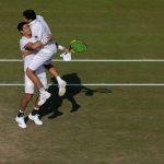 Hans Podlipnik avanzó a la segunda ronda de dobles en Wimbledon