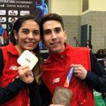 Ignacio Morales y Fernanda Aguirre se suben al podio del Panamericano de Taekwondo
