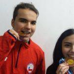 Isidora Van de Perre y Cristobal Robles obtienen medalla de bronce en el Nacional Argentino de Tiro al Blanco