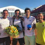 Julio Peralta se tituló campeón de dobles del ATP 250 de Bastad