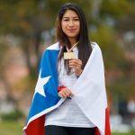 Laura Acuña le entrega el primer oro a Chile en el Sudamericano Sub 18 de Atletismo
