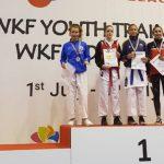 Magdalena Godoy ganó medalla de bronce en el torneo Karate Youth League de Croacia