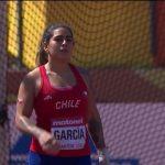 Mariana García terminó décima en la final del lanzamiento del martillo en el Mundial Sub 20 de Atletismo