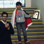 Mauricio Marrujo ganó medalla de oro en el Panamericano de Ajedrez de la Juventud
