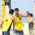 Primos Grimalt terminan novenos en la fecha del World Tour de Volleyball Playa realizada en Portugal