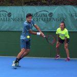 Tomás Barrios y Bastián Malla avanzaron a la segunda ronda de la qualy del Challenger de Montevideo