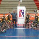 Comienza el Campeonato Nacional de Básquetbol en Silla de Ruedas 2018
