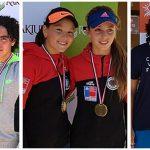 Tenistas nacionales logran tres títulos de dobles en el Paraguay Junior Open