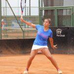 Bárbara Gatica se despidió del W15 de Porto tras caer en singles y dobles