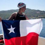 Bárbara Hernández se transformó en la primera chilena en cruzar el Canal de Catalina