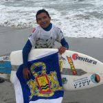 Dilan Bernales gana un cupo para representar a Chile en el Mundial de Surf Adaptado