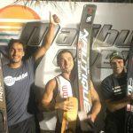 Felipe Miranda gana medalla de bronce en nueva versión del Malibú Open