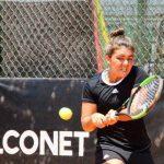 Fernanda Brito se tituló campeona de dobles en un nuevo ITF 15K de Guayaquil