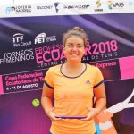Fernanda Brito gana el duelo de chilenas y se titula campeona del ITF de Guayaquil