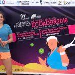 Fernanda Labraña avanzó al cuadro principal de un nuevo ITF de Guayaquil